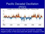 pacific decadal oscillation pdo