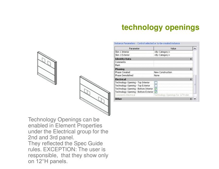 technology openings