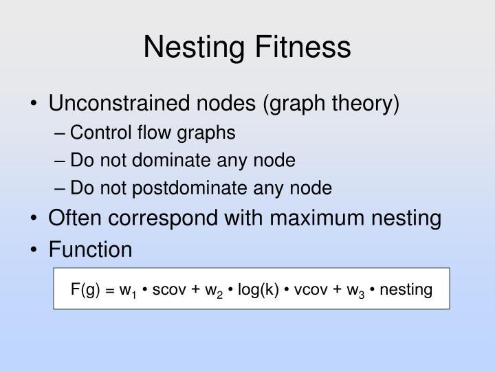 Nesting Fitness