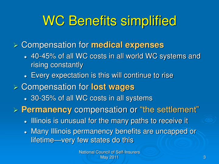 Wc benefits simplified
