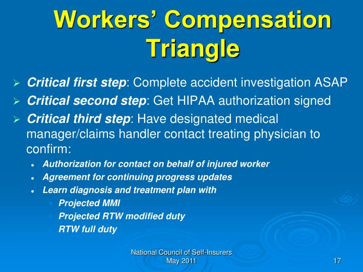 Workers' Compensation Triangle