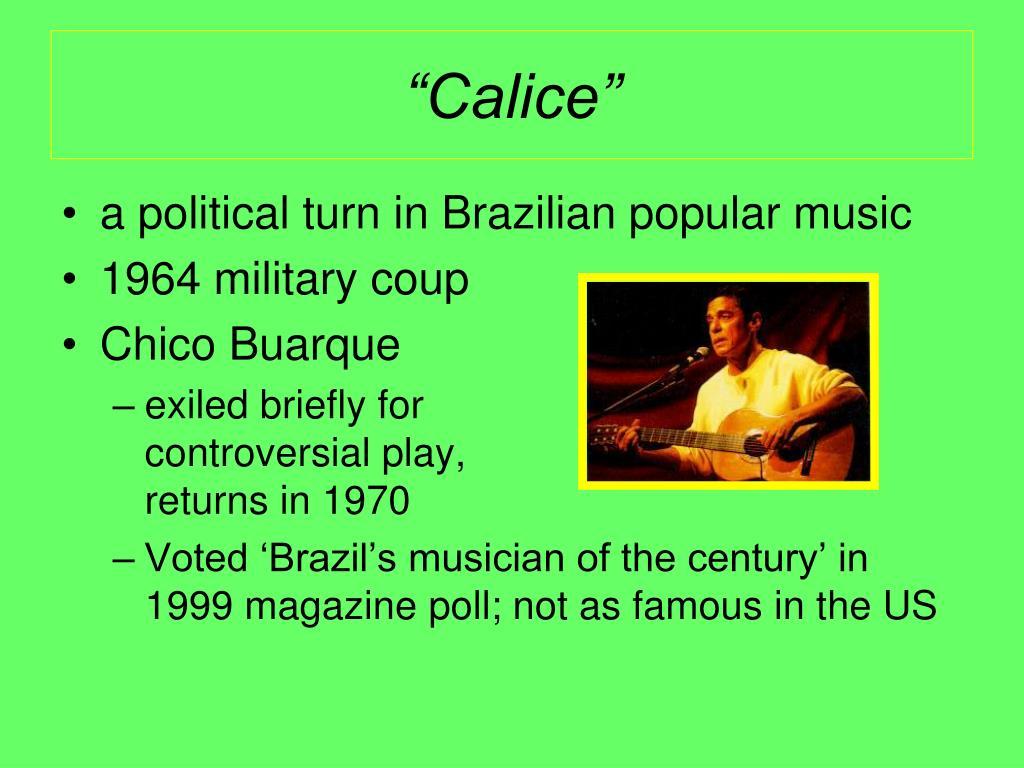 """Calice"""