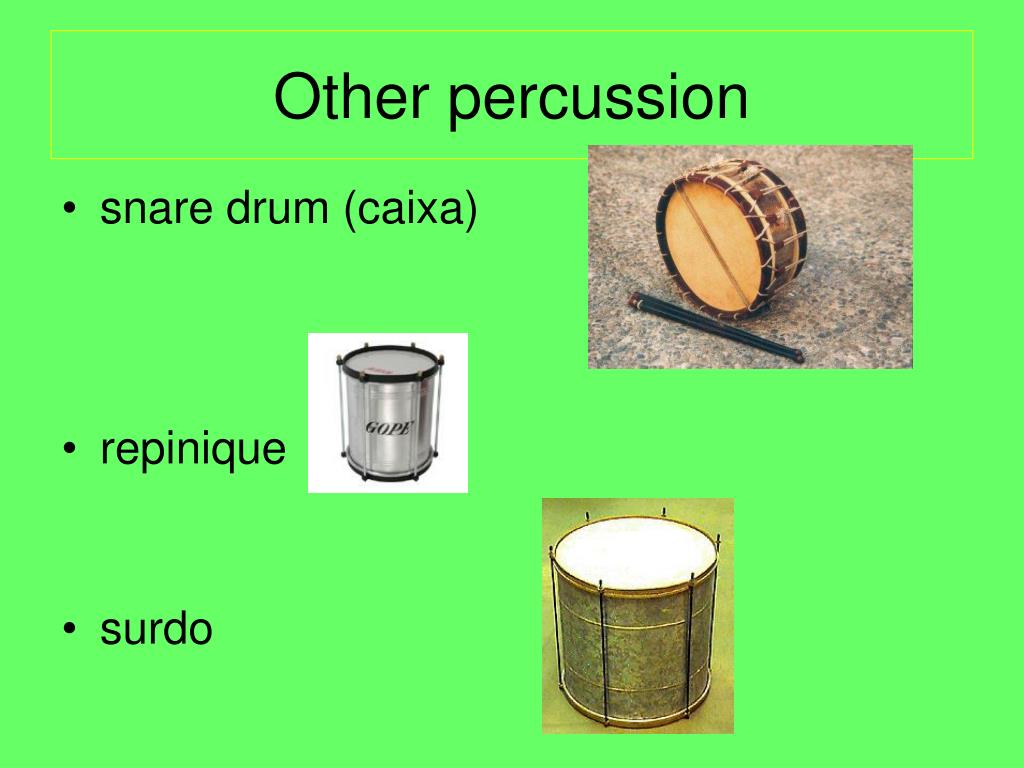 Other percussion