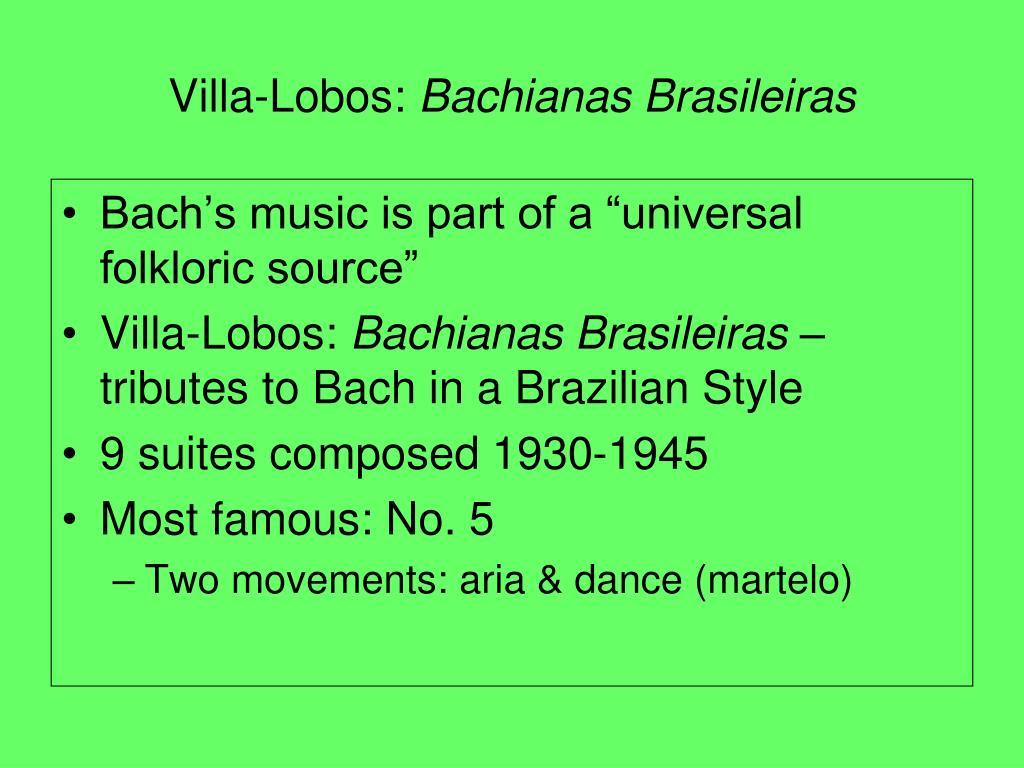 Villa-Lobos: