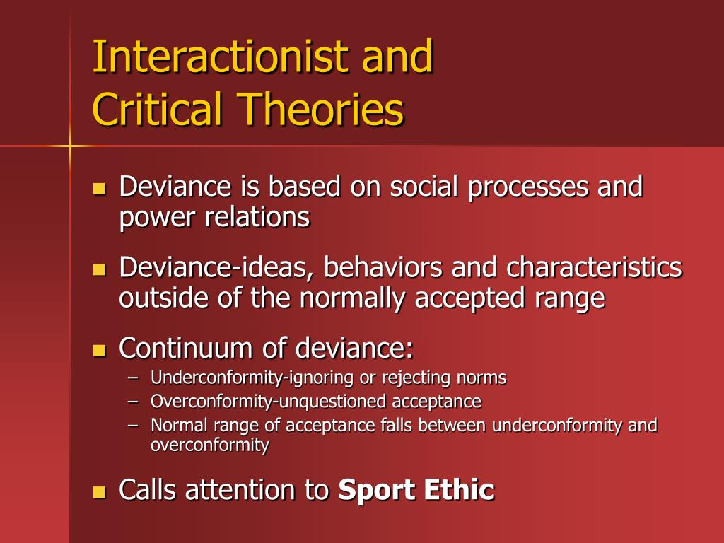 Interactionist and