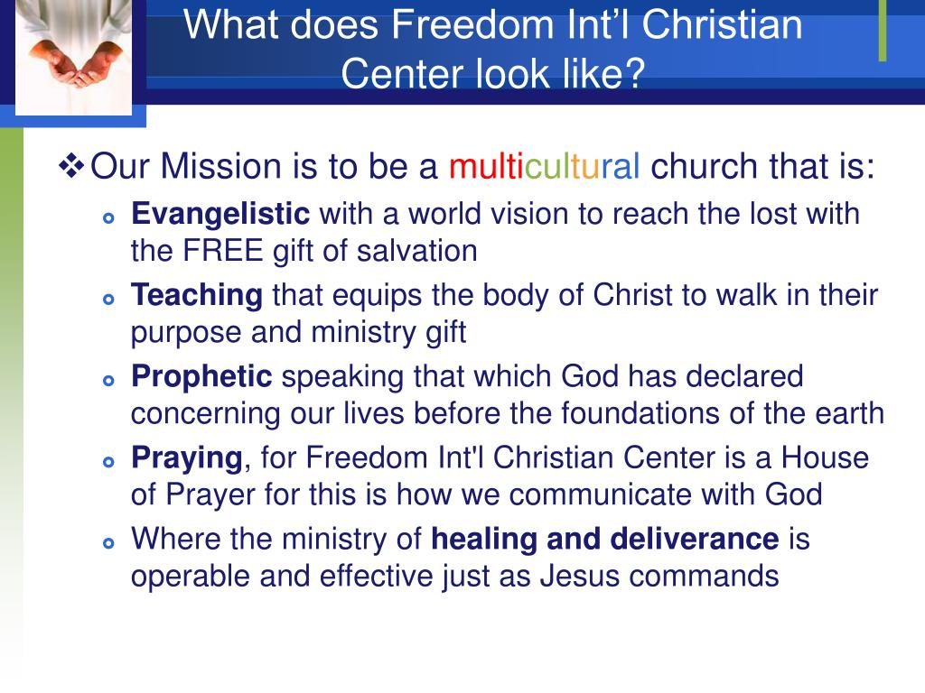 What does Freedom Int'l Christian Center look like?