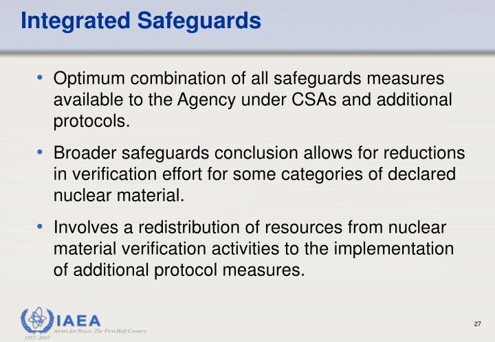 Integrated Safeguards