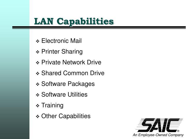 LAN Capabilities