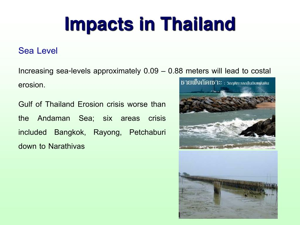 Impacts in Thailand