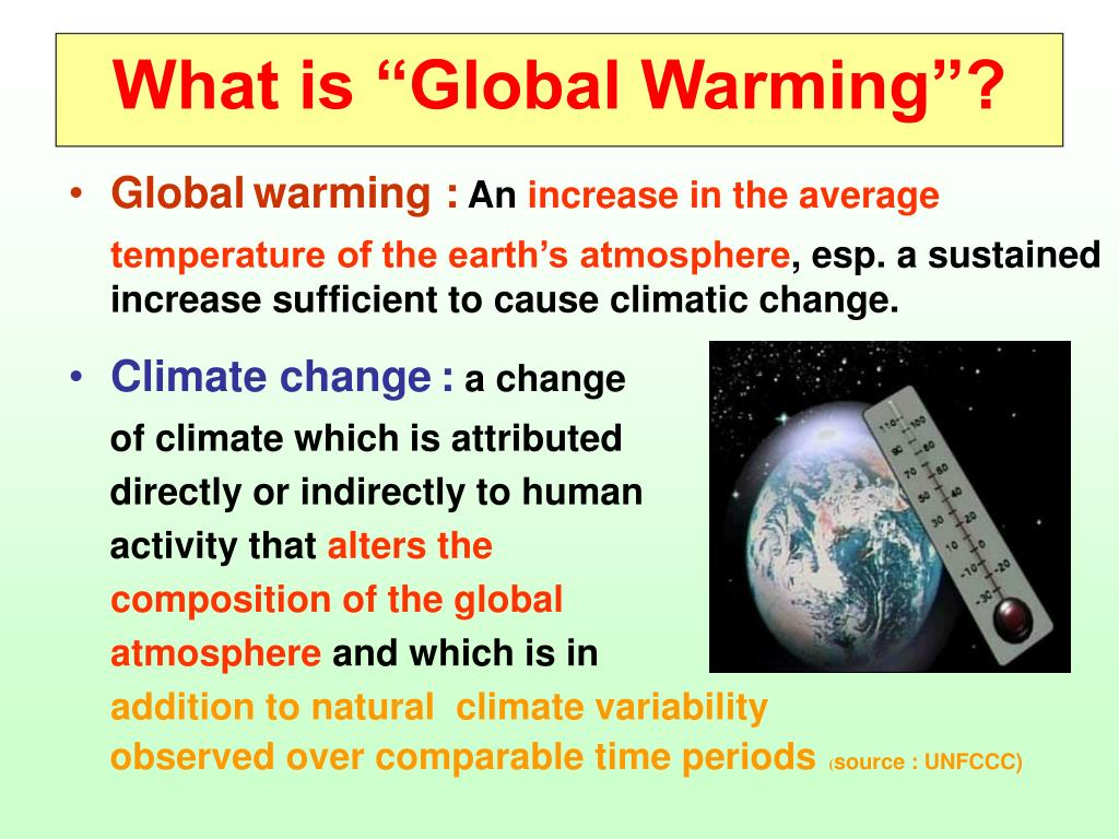 "What is ""Global Warming""?"