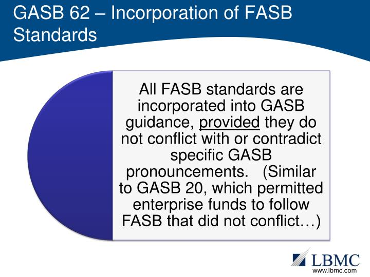 gasb fasb The governmental accounting standards board (gasb) is the source of generally accepted accounting principles (gaap) used by state and local governments in the united.