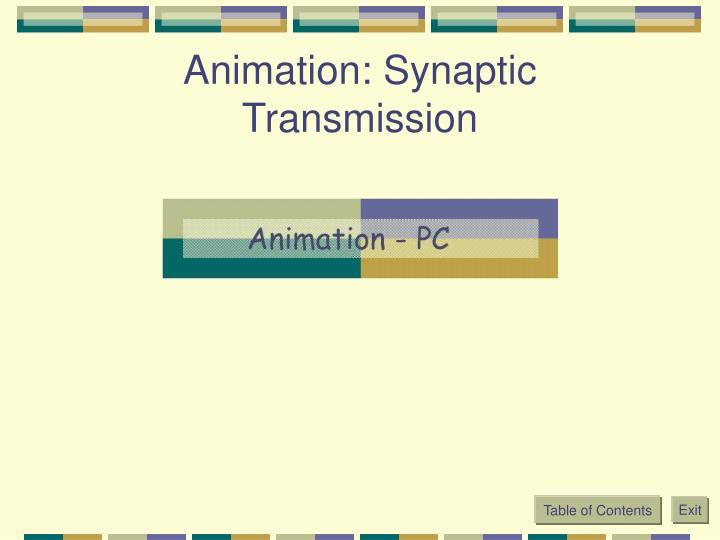 Animation: