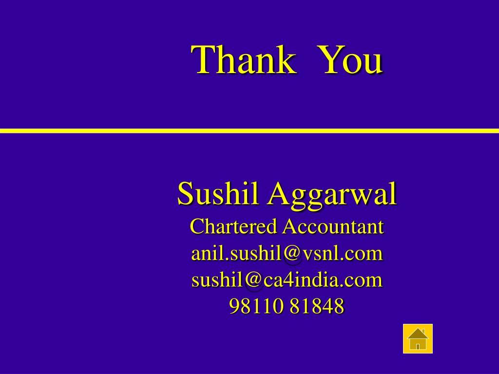 Sushil Aggarwal