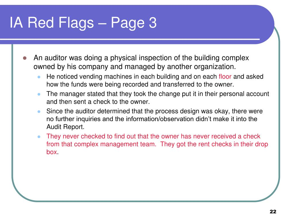 IA Red Flags – Page 3