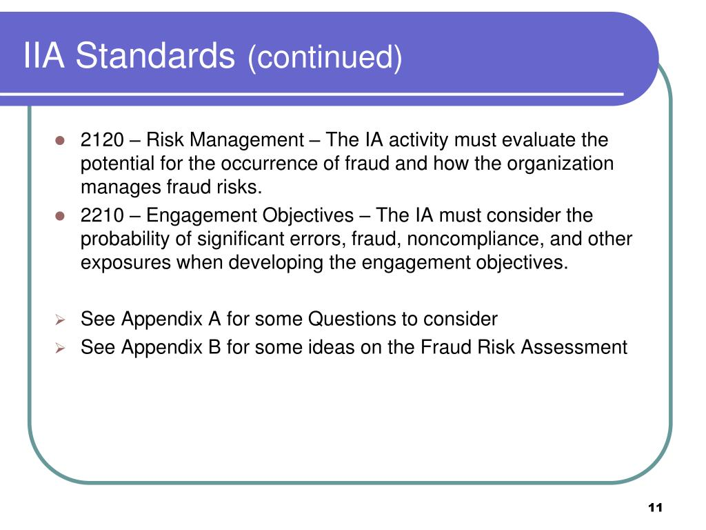 IIA Standards