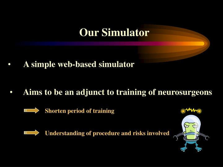 Our Simulator