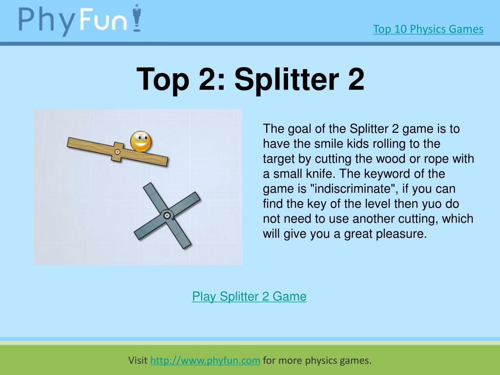 Top 2: Splitter 2