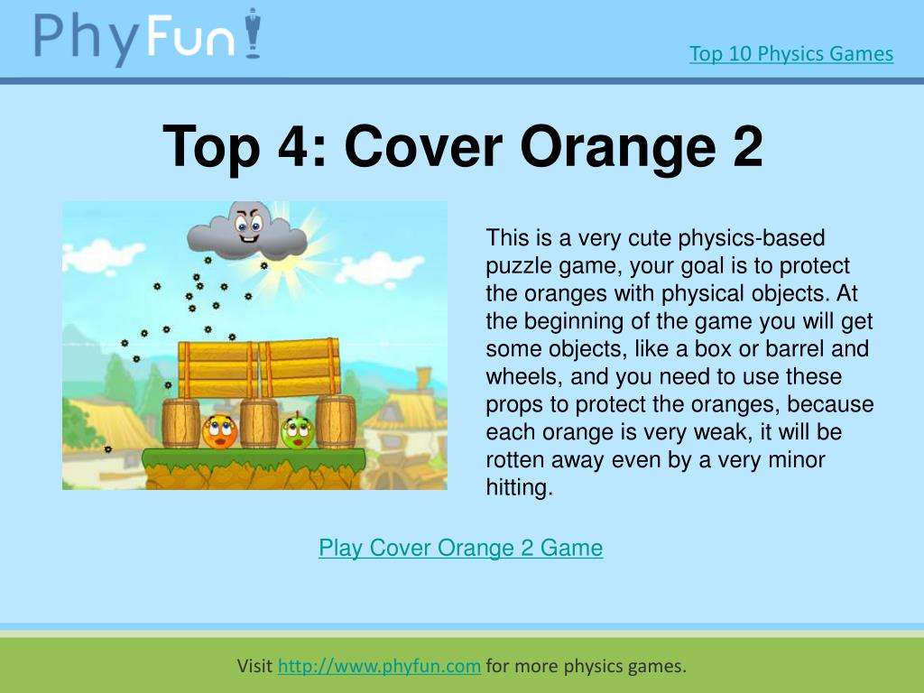 Top 4: Cover Orange 2