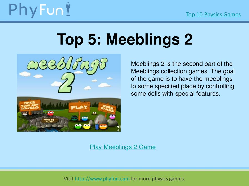 Top 5: Meeblings 2