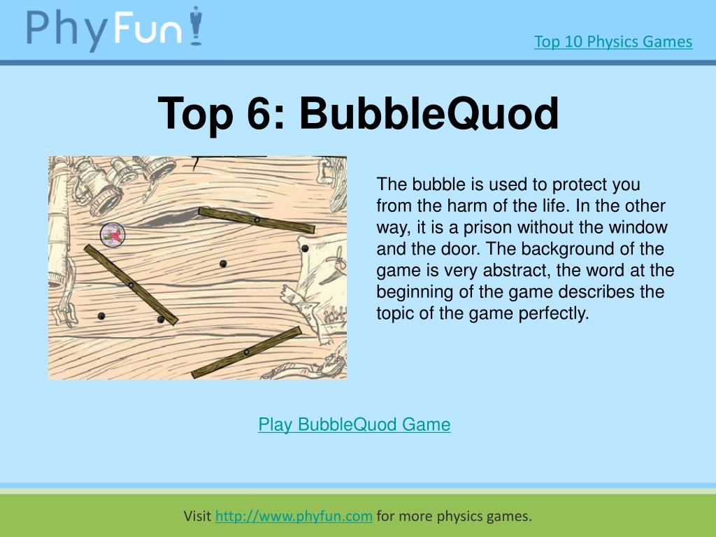 Top 6: BubbleQuod