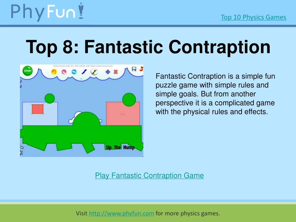 Top 8: Fantastic Contraption