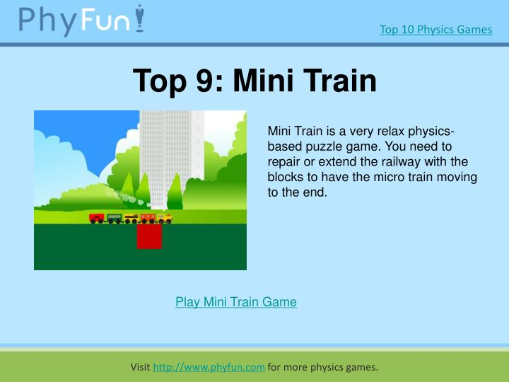Top 9 mini train