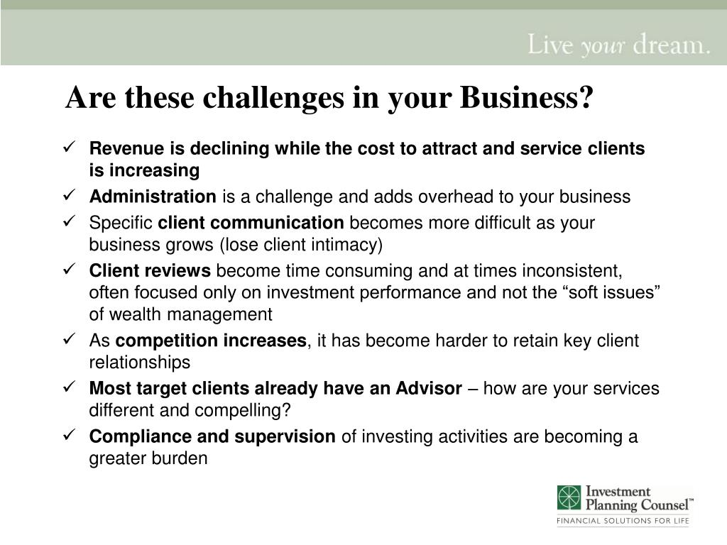 Are these challenges in your Business?