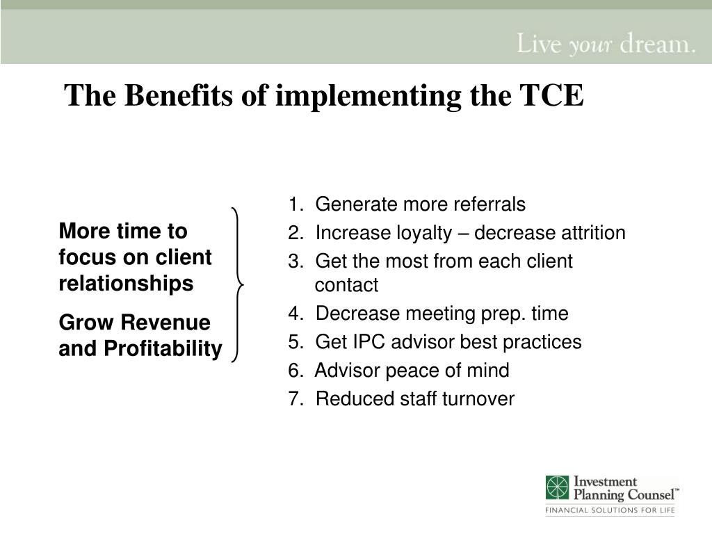 1.  Generate more referrals