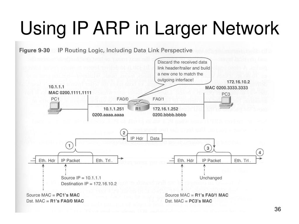 Using IP ARP in Larger Network
