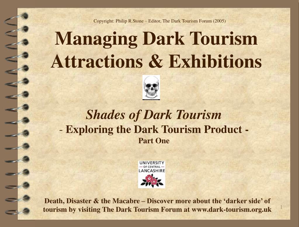 Copyright: Philip R.Stone – Editor, The Dark Tourism Forum (2005)