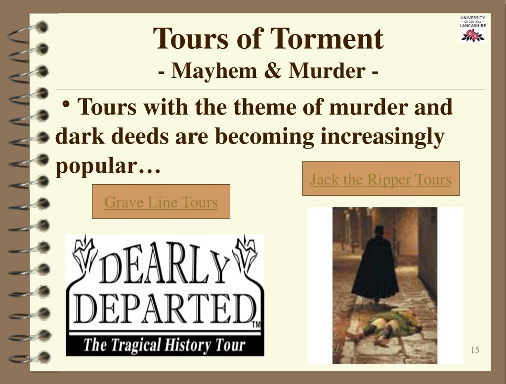 Tours of Torment