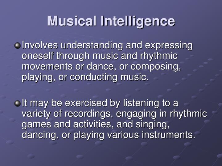 Musical Intelligence