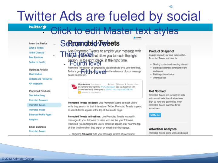 Twitter Ads are fueled by social