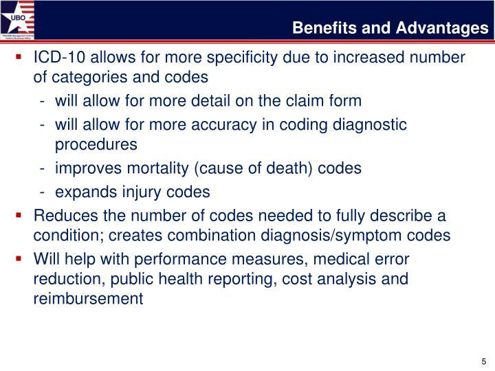 Benefits and Advantages