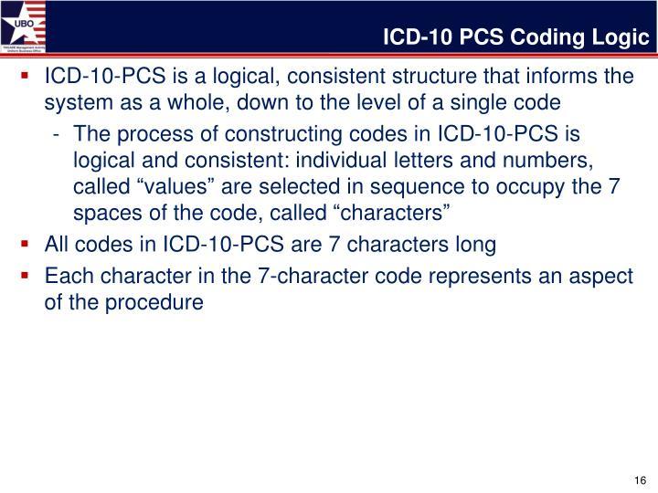 ICD-10 PCS Coding Logic