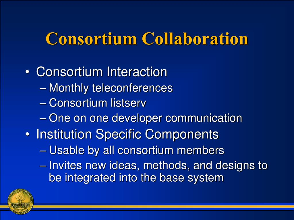 Consortium Collaboration