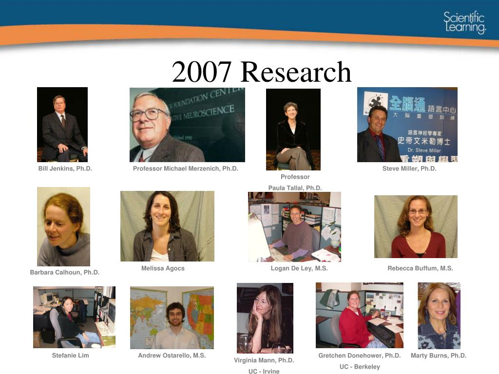 2007 Research