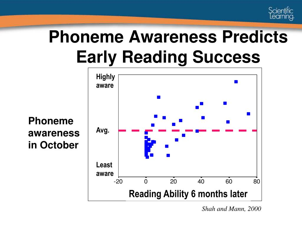 Phoneme Awareness Predicts Early Reading Success