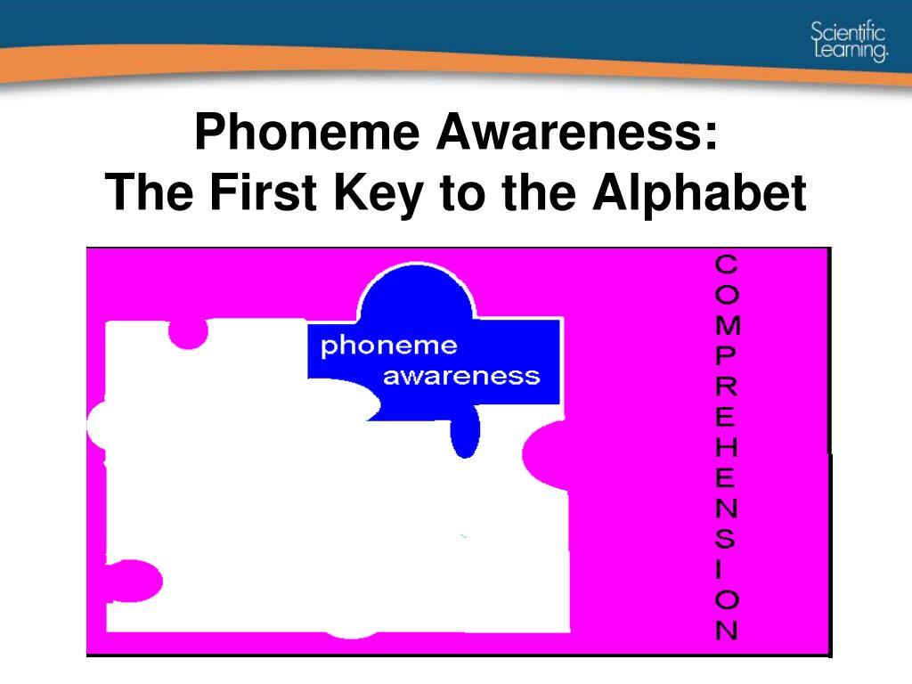 Phoneme Awareness: