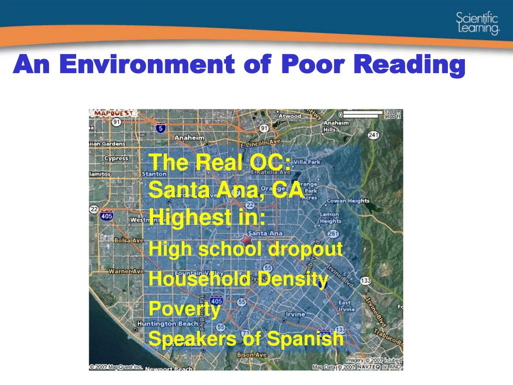 An Environment of Poor Reading