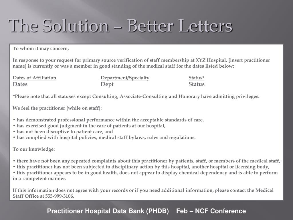 The Solution – Better Letters