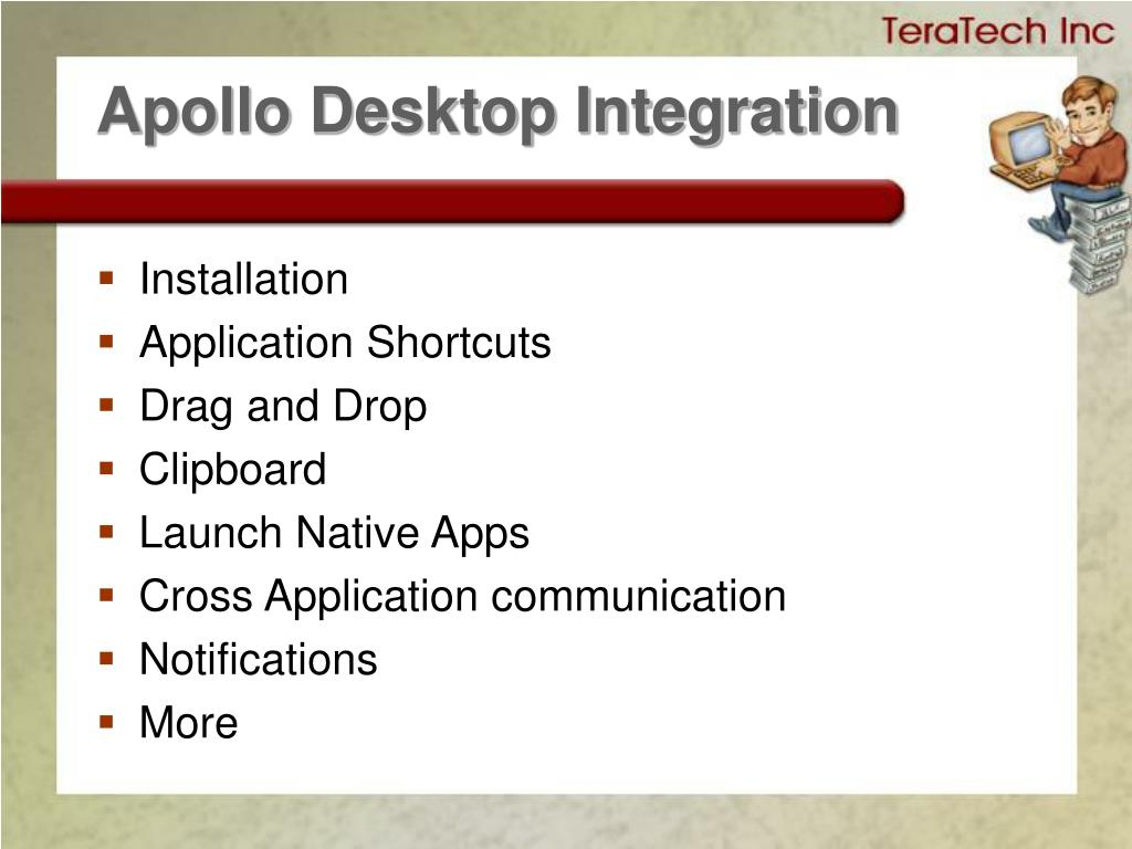 Apollo Desktop Integration