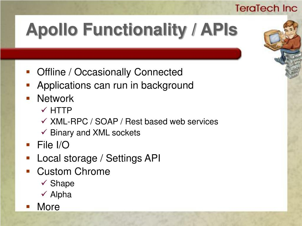 Apollo Functionality / APIs