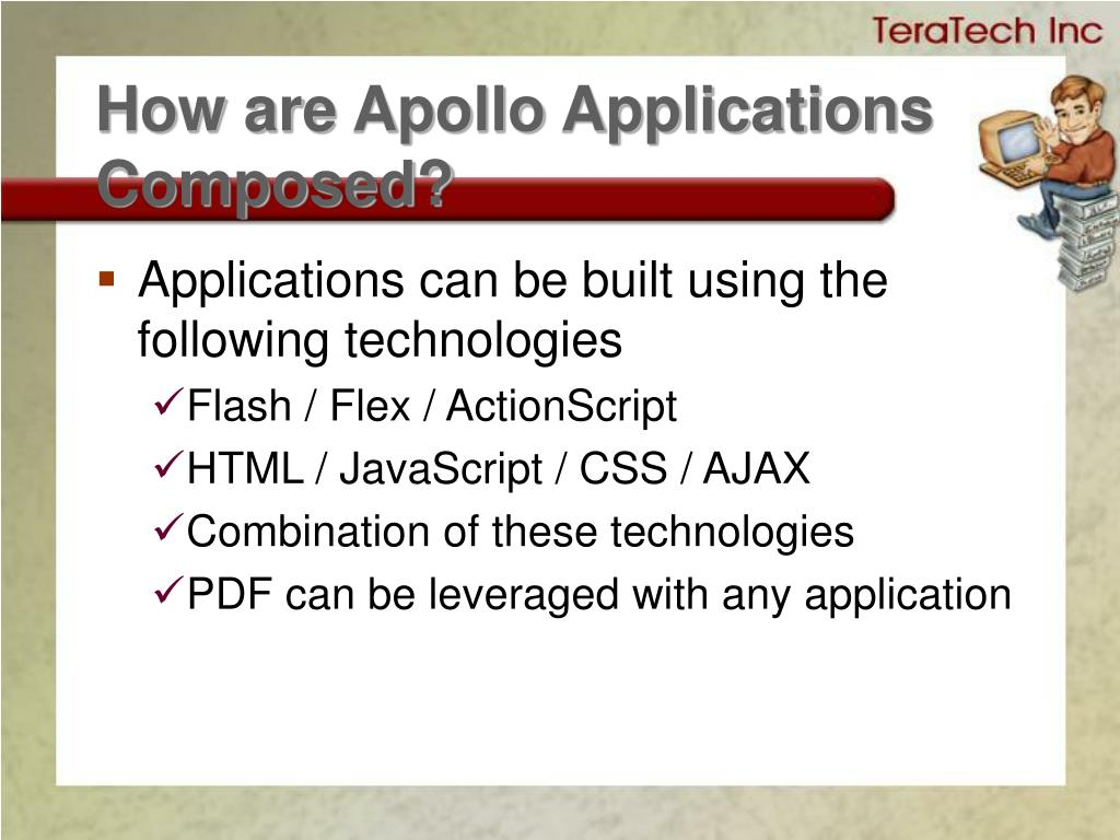 How are Apollo Applications Composed?