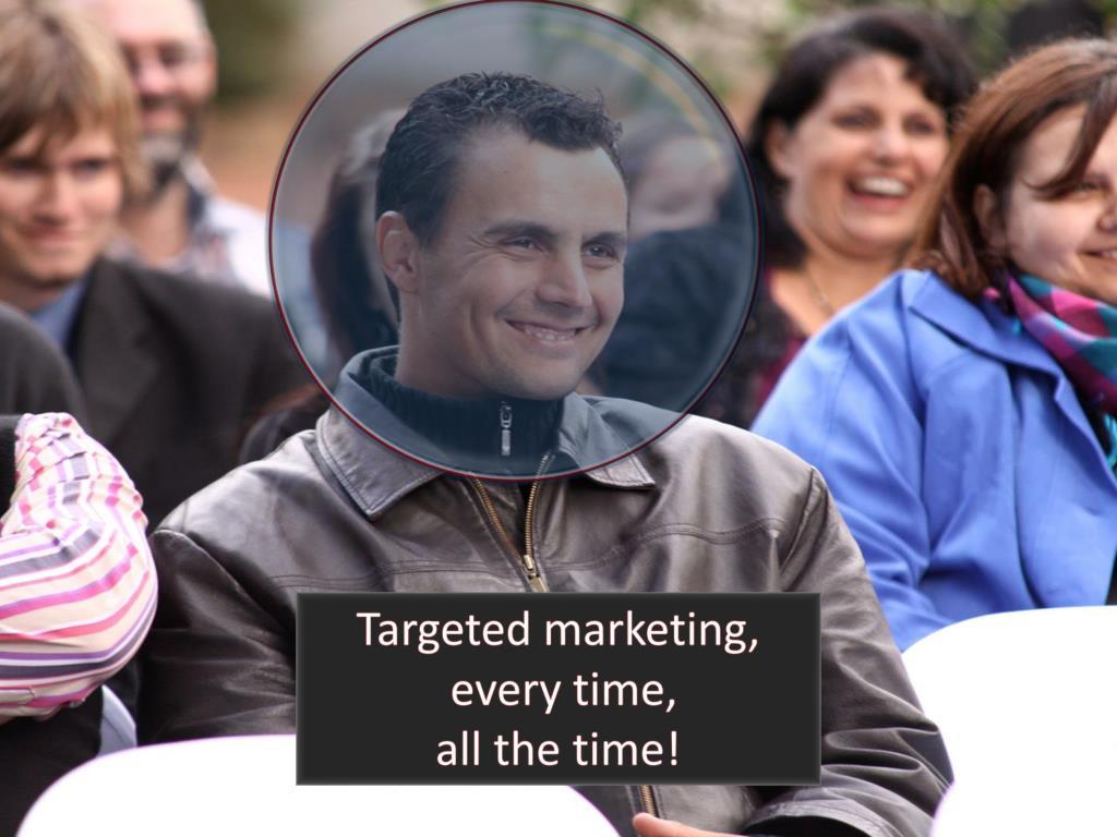 Targeted marketing,