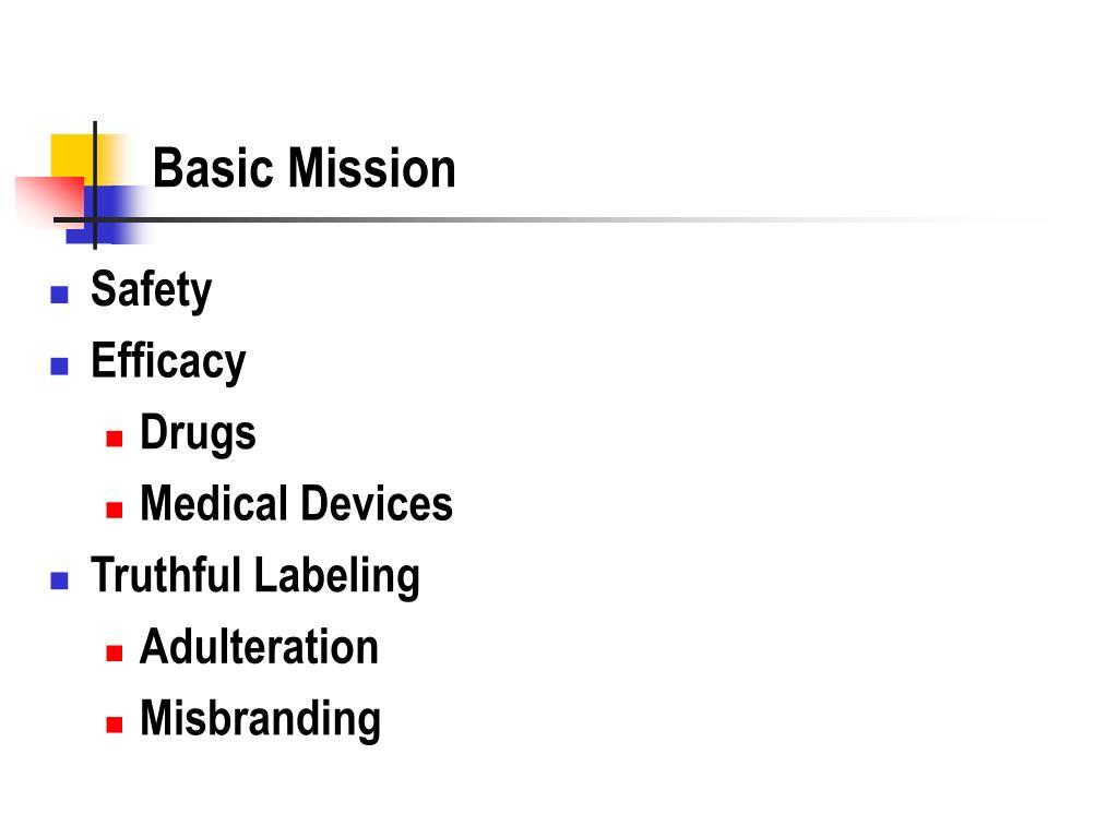 Basic Mission