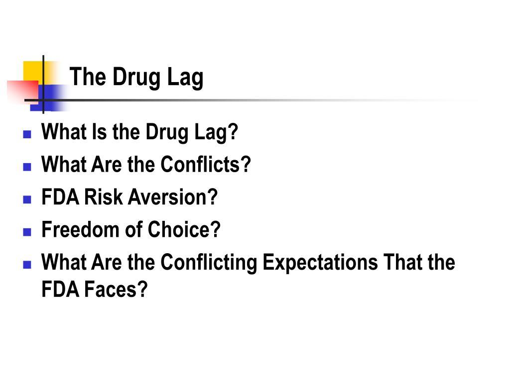 The Drug Lag