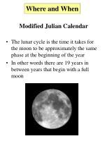 modified julian calendar3