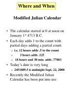 modified julian calendar6