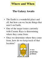 the galaxy awaits